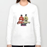 akira Long Sleeve T-shirts featuring Drive / Akira  by KScully