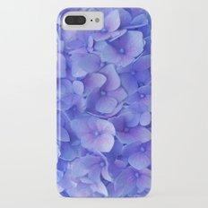 Hydrangea blue iPhone 7 Plus Slim Case