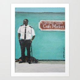 George Town Craft Market Art Print