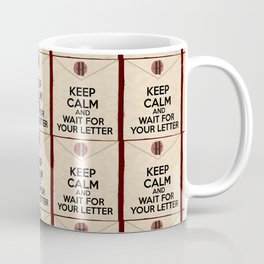 HP Keep calm and wait for your letter #1  Coffee Mug