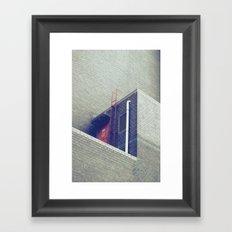 dead ends Framed Art Print