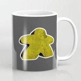 Giant Yellow Meeple Coffee Mug