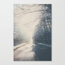 driving home for Christmas ... Canvas Print