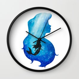 Ariel Underwater Wall Clock