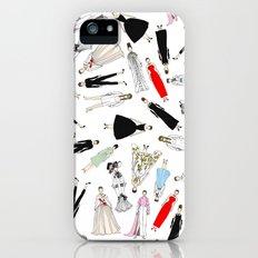Audrey Hepburn Fashion (Scattered) iPhone SE Slim Case