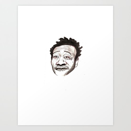Dirt McGirt Art Print
