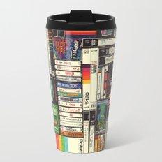 Cassettes, VHS & Atari Travel Mug