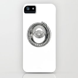 Space-Time Atom iPhone Case