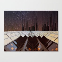 Metropolis Dusk Canvas Print
