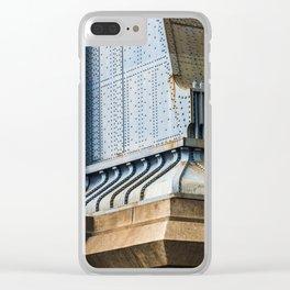 Manhattan Bridge Clear iPhone Case