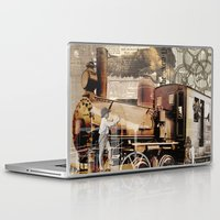 industrial Laptop & iPad Skins featuring Industrial by victorygarlic - Niki
