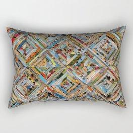 Texas Kaleidoscope Rectangular Pillow