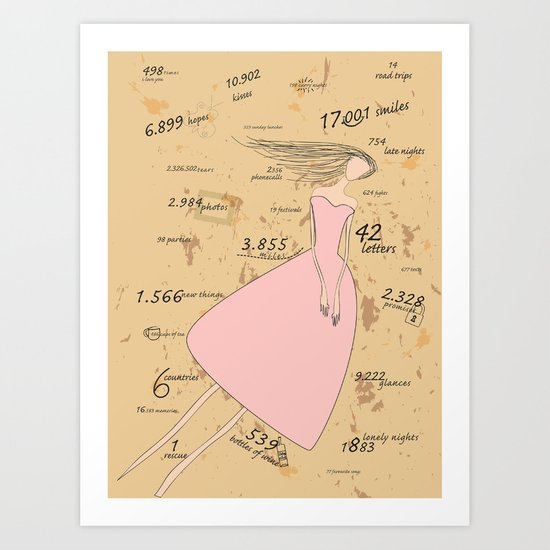 Flying Memories Art Print