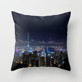 Hong Kong- Victoria Peak Throw Pillow