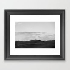 Black Sands Framed Art Print