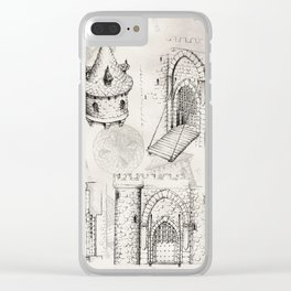 Medieval Barbican Clear iPhone Case