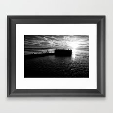 The island... Framed Art Print