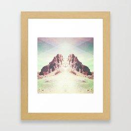 rocky gates Framed Art Print