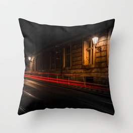 Fragment Of Time Throw Pillow