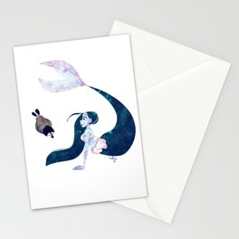 Arctic Mermaid Stationery Cards