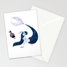 Arctic Mermaid Stationery Cards