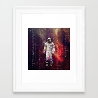 interstellar Framed Art Prints featuring Interstellar by Tony Vazquez