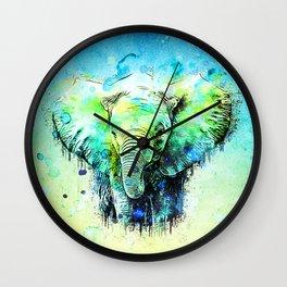 Pritty & Happy Wall Clock