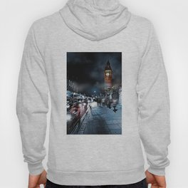 London Street At Night Hoody