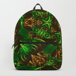 Emerald Path Mandala Backpack
