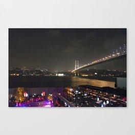 Istanbul Lights! Canvas Print
