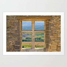 Window To The Luberon Art Print