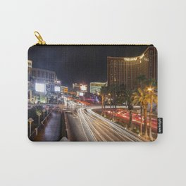 Light Trails on the strip  Carry-All Pouch