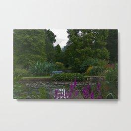 Beth Chattos Garden Metal Print