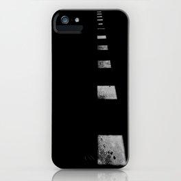 Minimalist Shadows iPhone Case