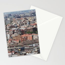 Barcelona Spain Megapolis Houses Cities megalopolis Building Stationery Cards
