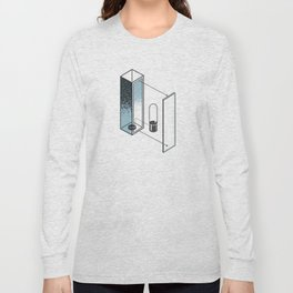 The Exploded Alphabet / I Long Sleeve T-shirt