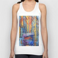 lovers Tank Tops featuring Lovers by Pluto00Art / Robin Brennan