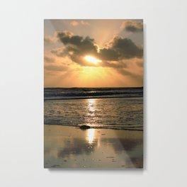 Bracelet Bay Sunset UK Metal Print