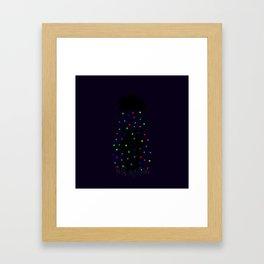 The Happy Rain Framed Art Print
