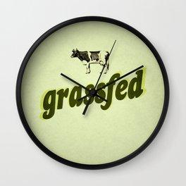 Grassfed Wall Clock