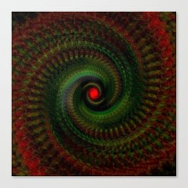 Spiral Madness Canvas Print