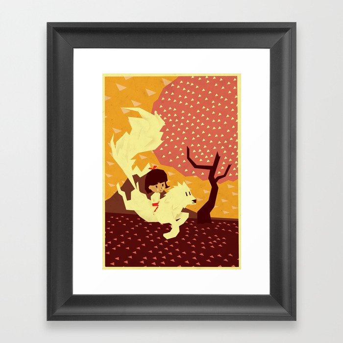 A better place Framed Art Print