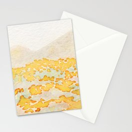 Hazy Poppies Stationery Cards