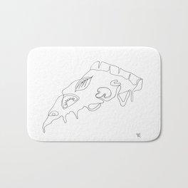 Pizza slice Bath Mat