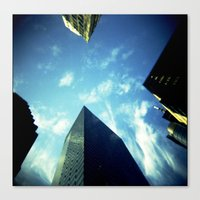 building Canvas Prints featuring Building by Jacquie Fonseca