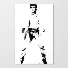 FPJ black and white Canvas Print