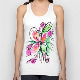 Ecstasy Bloom No. 1 by Kathy Morton Stanion Unisex Tank Top