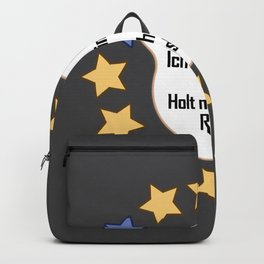 Brexit EU I Am A Star Funny Gift Backpack
