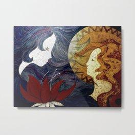 Moonrise (Dark) Metal Print