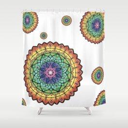 Mandala jewel Shower Curtain
